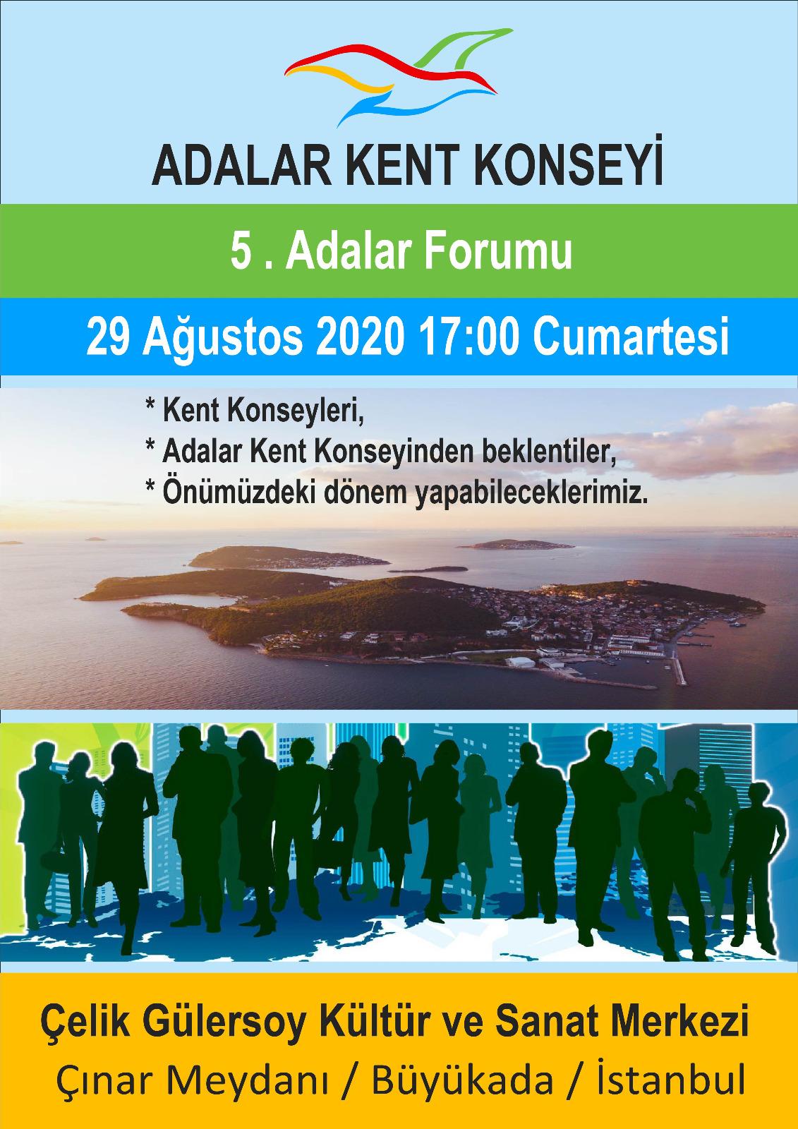 Adalar Forumu 5. Toplantısı Yapılıyor