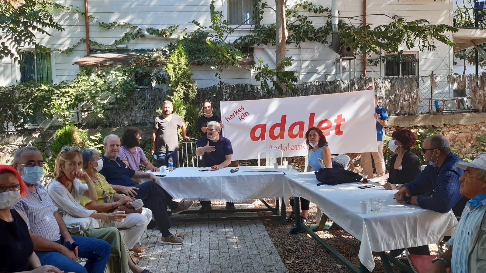 #AdaletNöbeti Heybeliada Sanatoryumu tartışmalarına sessiz kalmadı