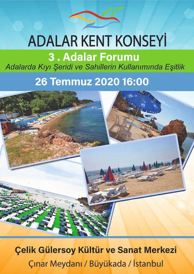 3. Adalar Forumu 26 Temmuz'da Yapılacak