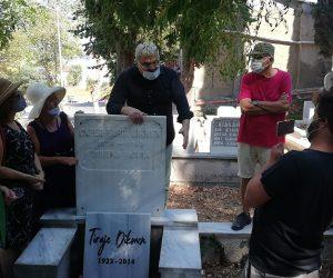 Ressam Tiraje Dikmen Mezarı Başında Anıldı