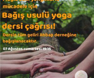 Yangınlar İçin Bağış Usulü Yoga Çağrısı